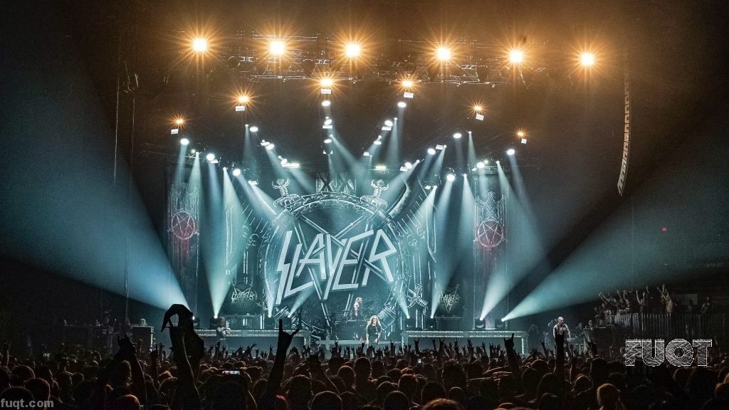 Performance: Slayer at Valley View Casino Center